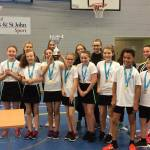 Level 2 High-Five Netball Tournament Finals