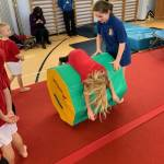Fun at the KS1 Gymnastics Festival