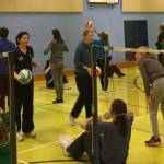 KS2 Volleyball Inset at Plympton Academy 2017