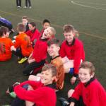 Children happy at Football Festival