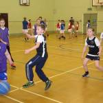 Year 5/6 Basketball festival at Coombe Dean