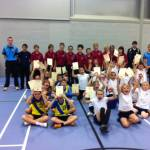 Torbridge Indoor athletics 2011