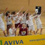 Indoor athletics under 13 county finals