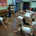 Plymstock inspire children at Pomphlett