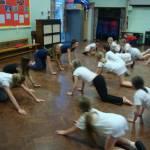 Plymstock inspire children at Pomphlett