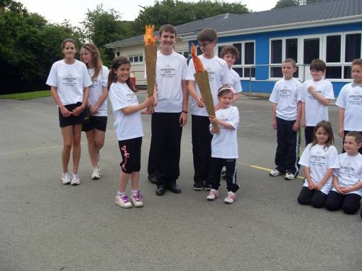 plympton family olympic torch relay - news